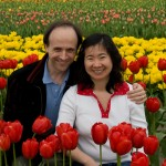 Chris and Hong go to the Tulips