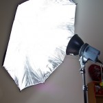 EXD200 Monolight with Umbrella