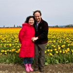 Chris and Xiaohong Visit the Tulip Festival 2010